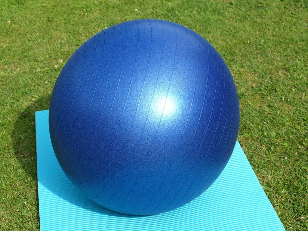 un ballon de gym