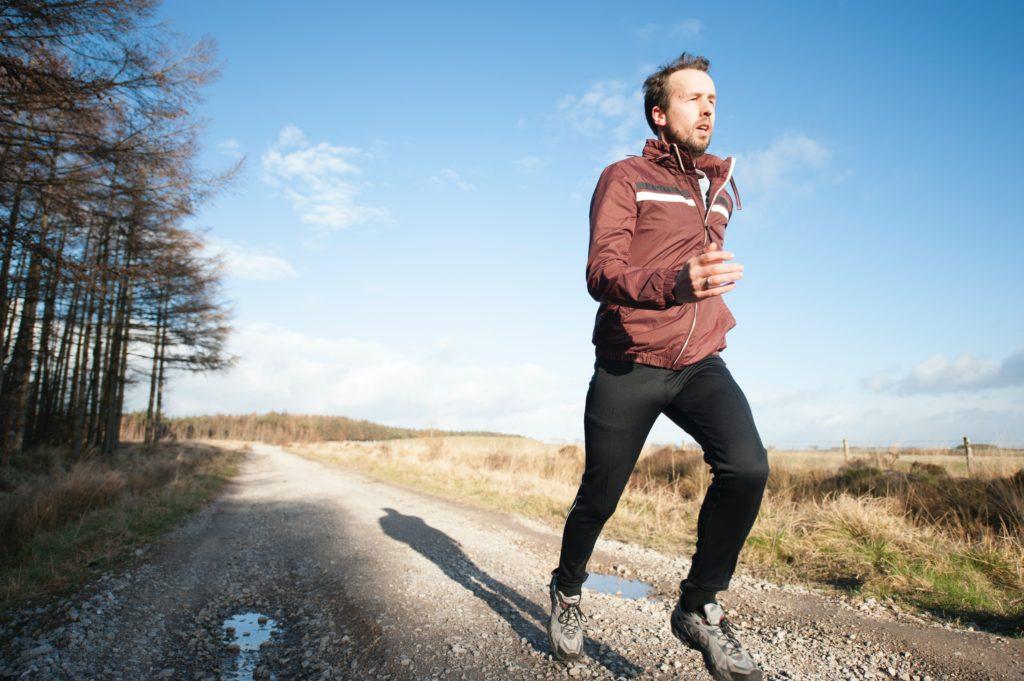 motivation et course dans le froid