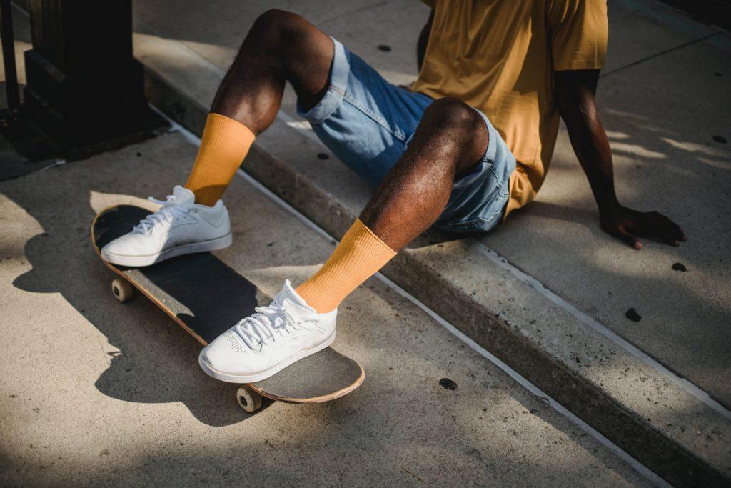 tester le skateboard